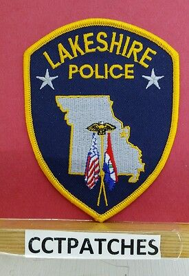 LAKESHIRE, MISSOURI POLICE SHOULDER PATCH MO