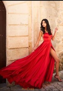 GORGEOUS RED PROM DRESS SHERRI HILL #52022