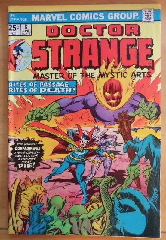 DOCTOR STRANGE #8 (1975 MARVEL Comics) FN Book