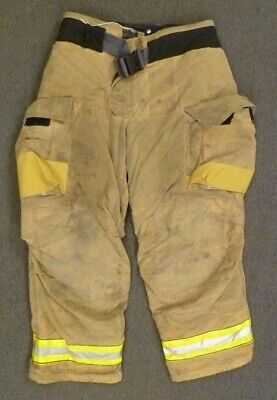 40x30 Globe Gxtreme Firefighter Pants Turnout Bunker Fire Gear W Liner P075