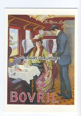 ad0508 - Bovril - Train , The Main Line Of Health -  Modern Advert Postcard