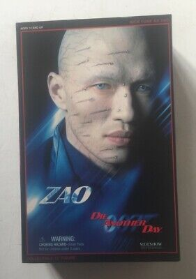 "SIDESHOW JAMES BOND ~ RICK YUNE AS ZAO DIE ANOTHER DAY ~12"" ACTION FIGURE~SEALED segunda mano  Embacar hacia Spain"