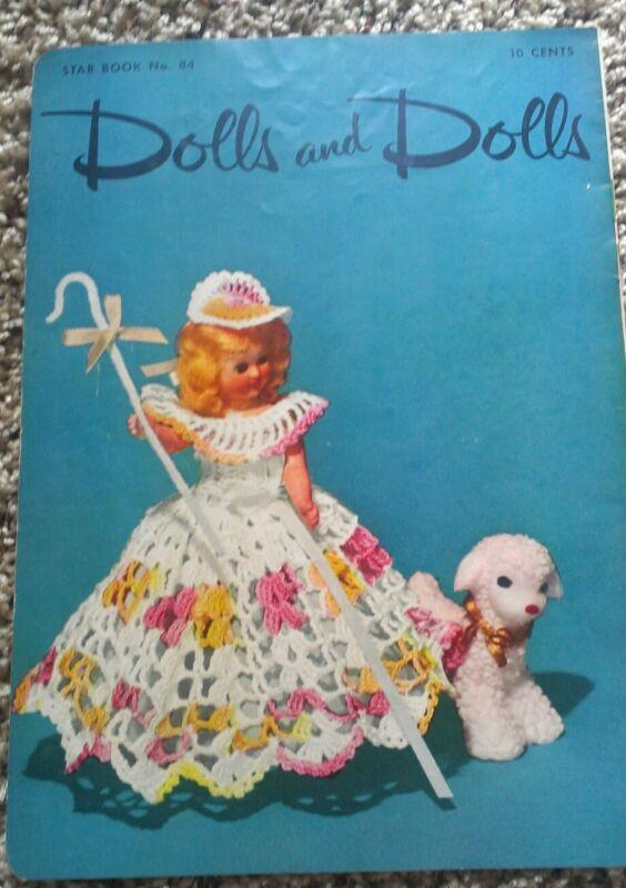 Vintage Crochet Doll Pattern Ebay