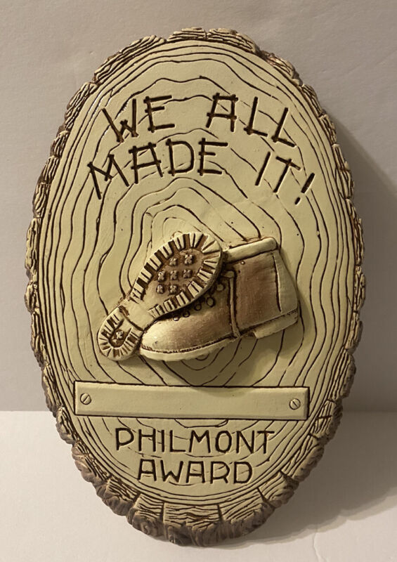 """BSA PHILMONT SCOUT RANCH AWARD """"WE ALL MADE IT"""""""