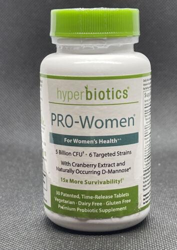 Hyperbiotics PRO-Women - For Women s Health - 5 Billion CFU - 30 Count 08/21 - $19.99