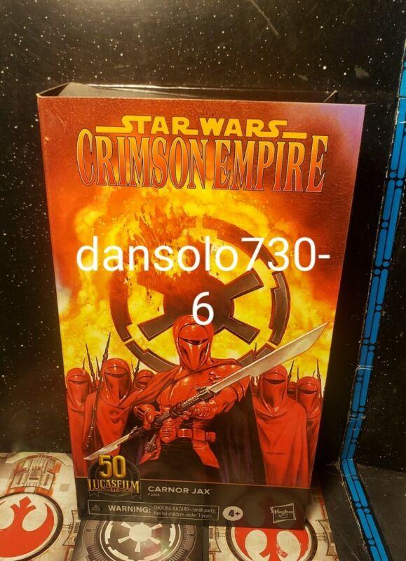 Star Wars The Black Series 6-inch CARNOR JAX - KIR KANOS  50TH LUCASFILM