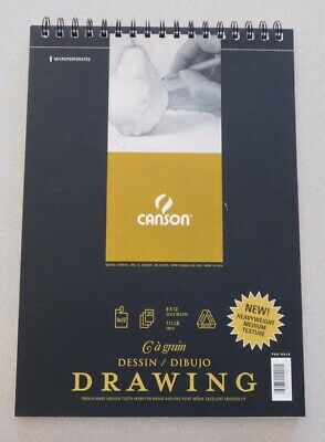 Canson Classic Cream Drawing Paper - 9X12, 111 lb, 20 -