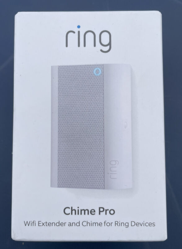 Ring Chime Pro 2nd Generation White