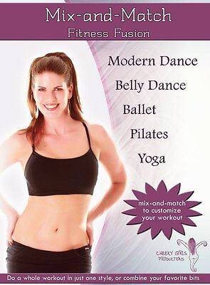 Mix N Match Fitness Fusion   Modern  Belly Dance  Pilates  Yoga  Ballet Practice