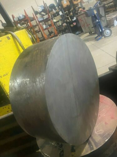 "4140 Steel Round Bar Annealed 9-1/2 in Diameter x 1.50"" in Length"