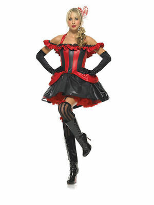 Sexy FRENCH CANCAN DANCER Adult Women's Halloween Costume Party - French Cancan Costume