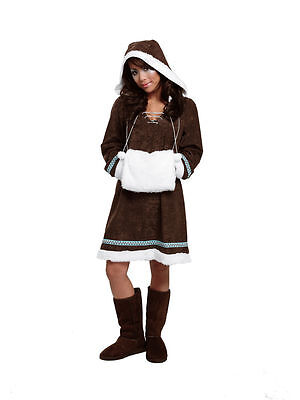 Eskimo Kostüm Eskimodame Damenkostüm Kleid Gr.42 Straßenkarneval Fasching - Eskimo Kostüme Damen
