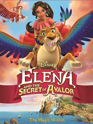 Dvd   Elena And The Secret Of Avalor  New  2017  Anime  Fast Shipping