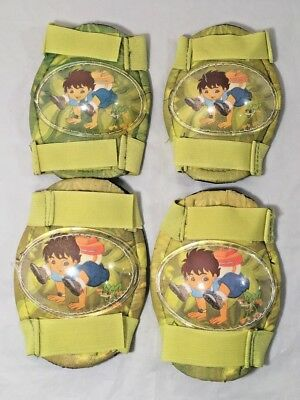 Go Diego Go - Knee Pads and Elbow Pads - Kids Protective Gear - Multi Sport for sale  Shipping to India
