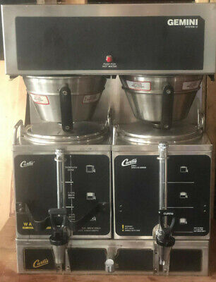 Wilbur Curtis Gemini - Gem12 Twin Coffee Brewer Commercial 1.5 Gal Coffee Maker