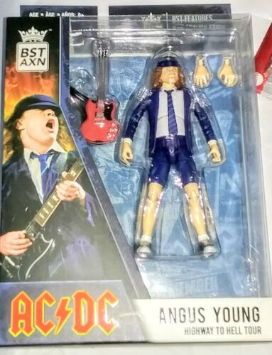 2021 ANGUS YOUNG BST AXN AC/DC FIGURE HIGHWAY TO HELL