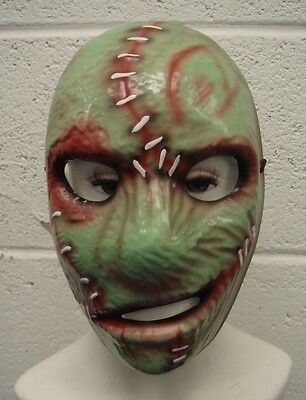 COREY TAYLOR STYLE SLIPKNOT GREEN PVC MASK REPLICA HALLOWEEN COSTUME MAGGOT](Maggot Mask Slipknot)