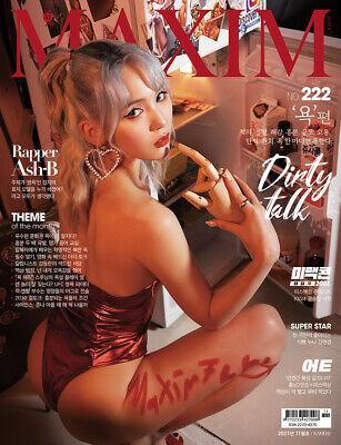 MAXIM KOREA ISSUE MAGAZINE 2021 NOV NOVEMBER TYPE A NEW