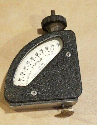 Vintage Shore Instrument Mfg. Durometer Type Astm D1484 Hardness Tester Case