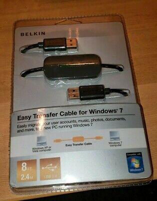 Belkin F5U279  Easy Transfer 8 Foot USB Cable Windows Vista or XP to Windows