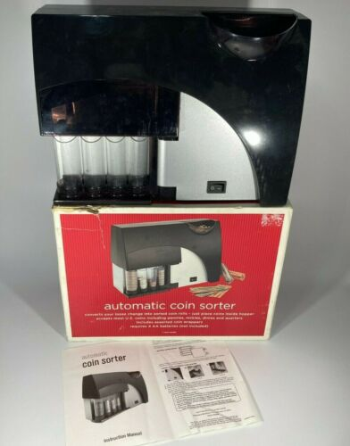 Automatic Motorized Coin Sorter *  Sort & Wrap Coins Easily