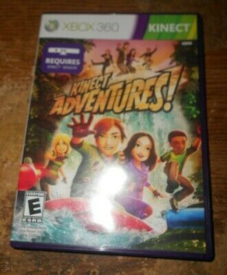 xbox 360 kinect adventures in good shape used for sale  Shipping to India