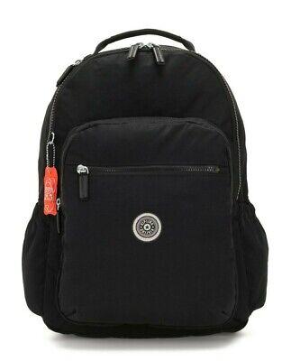 Kipling SEOUL GO Large Backpack with Laptop Compartment - Brave Black