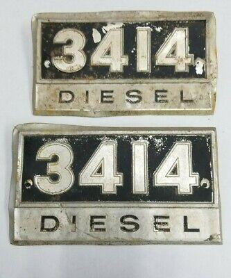 Ih 3414 Diesel Emblems