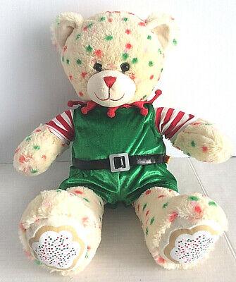 Build a Bear Christmas Sugar Cookie Bear With Elf - Sugar Bear Costume