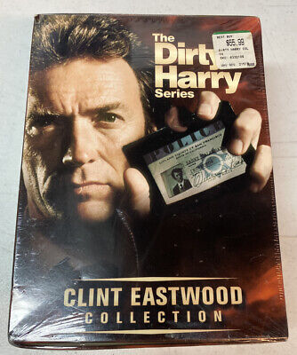 The Dirty Harry Series (DVD, 2001, 5-Disc Set NEW & SEALED