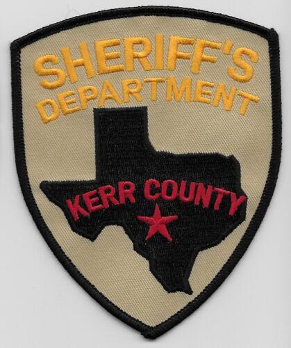 Kerr County Sheriff State Texas TX