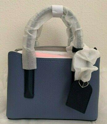 NWT Kate Spade Margaux MINI Leather satchel Bag $248 CELSTBLUE MULTI PXRUA540