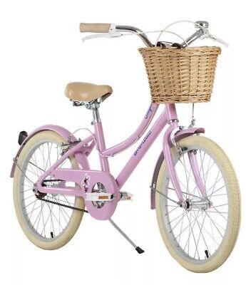 """Emmelle 20"""" (50.8 cm) Girls Heritage Snapdragon Bike in Pink/Biscuit/ Girls Bike"""