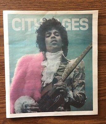 Prince City Pages Hometown Tribute Issue Minneapolis Entertainment News Paper