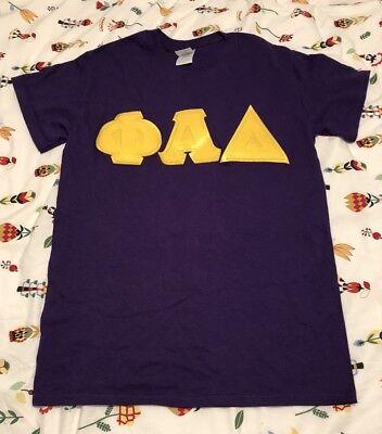 PHI ALPHA DELTA PAD Law Fraternity Small S Cotton Gildan Shirt Alpha Phi Delta