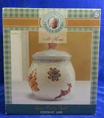Paula Deen At Home Christmas Sugar Cookie Suite Cookie Jar NIB  ()