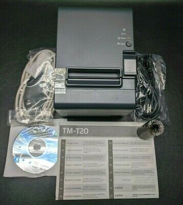 New Epson Tm-t20 061 M249a Serial Pos Point Of Sale Thermal Receipt Printer