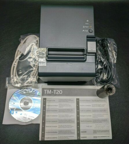 *NEW* EPSON TM-T20 061 M249A Serial POS Point of Sale Thermal Receipt Printer