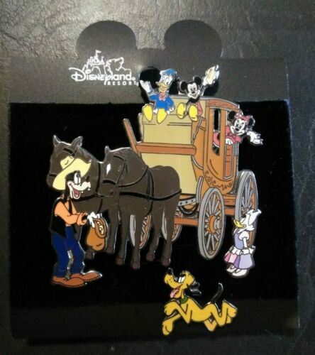 Disney Stagecoach DLR Pin Set