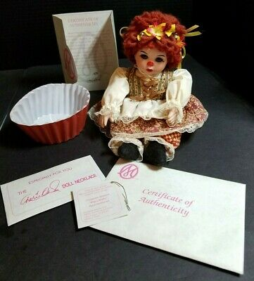 Marie Osmond Doll Cinnamon Streusel Rag A Muffin Collector Doll
