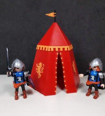 Tienda militar medieval Lannister Accesorios para playmobil impresion 3d segunda mano  Embacar hacia Argentina