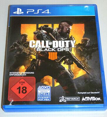 CALL OF DUTY: BLACK OPS 4 (PlayStation 4) PS4 DEUTSCH IIII