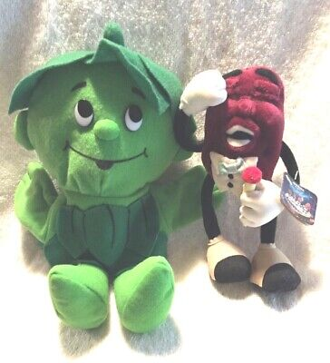 VINTAGE ADVERTISING PLUSH CHARACTER COLLECTIBLES CALIFORNIA RAISIN LITTLE SPROUT