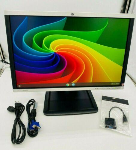 """HP 22"""" inch WideScreen Monitor Wide AntiGlare LCD VGA HDMI LA2205WG W/ STAND"""