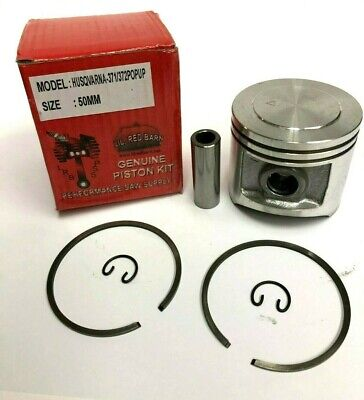 POP UP PISTON KIT FITS HUSQVARNA 371, 372, 50MM, NON X-TORQUE KIT,  EXTRA POWER