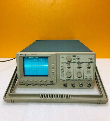 Tektronix Tas485 4 Channel 200 Mhz Oscilloscope. Tested