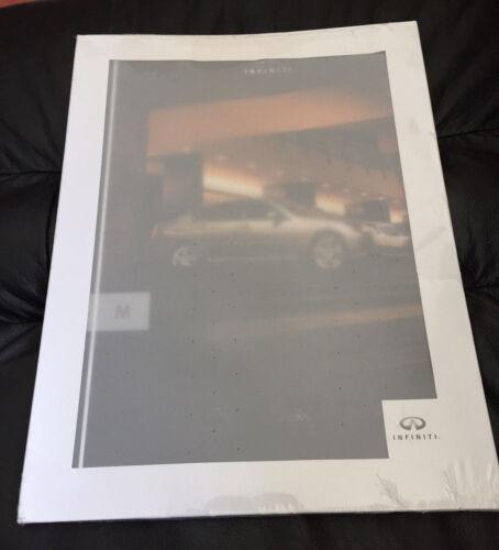 NEW NOS 2005 2006 Infiniti M M35 M45 Prestige Original Dealer Sales Brochure