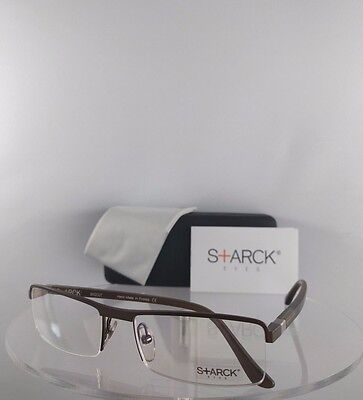 New Authentic STARCK EYES PL 1110 M0D0 Eyeglasses Biocut Hand made (Made Glasses)
