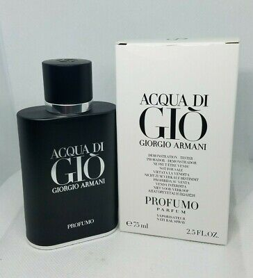 NIOB Acqua Di Gio Profumo by Giorgio Armani Parfum Spray 2.5 Oz / 75 Ml For Men