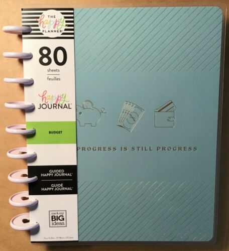 NEW! me & my BIG Ideas The Happy Planner BUDGET Classic Guided Happy Journal